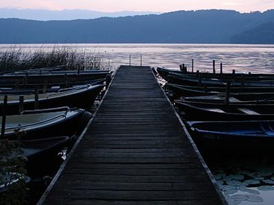 Morgenstimmung am Laacher See
