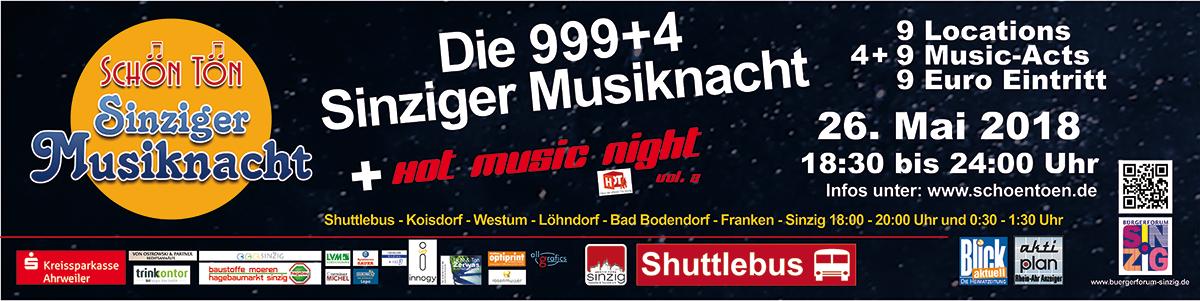 Banner Musiknacht