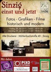 Plakat historische Ausstellung