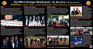 Flyer Musiknacht